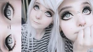 eyes makeup big anime doll eyes