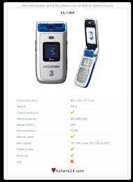 LG U890 To your site :: Xphone24.com