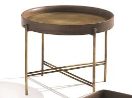 round coffee table by frigerio salotti