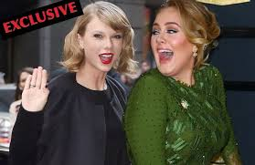 EXCLUSIVE: Taylor Swift and Adele Working Together! - Hollywood ...
