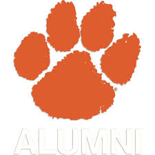 Clemson Tigers Paw Color Premium Auto Decal