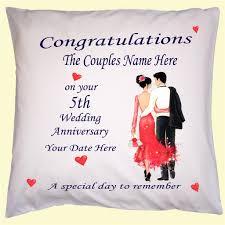 wedding anniversary gift names