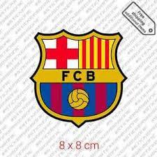 Fc Barcelona Logo Sticker Barca Spain Football Soccer Car Bumper Decal Ebay