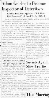 Adam Geisler becomes inspector of Detectives 02.14.1950 - Newspapers.com