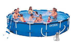 Bể bơi khung kim loại có máy lọc nước INTEX 28232