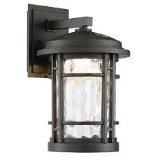 altair 9 led outdoor patio wall light