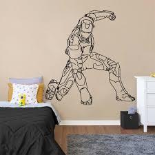 Iron Man Wall Sticker Kuarki Lifestyle Solutions