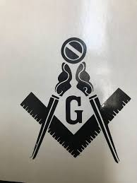 Masonic Decal 23 4 X 3 Great For Cars Trucks Motorcycles Windows Freemason Masonic Emblem Vinyl Sticker Masonic Car Emblems Masonic Vinyl Sticker