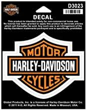 Amazon Com Harley Davidson Window Decals