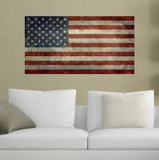 My Wonderful Walls United States Of America Flag Wall Sticker Decal By Bruce Stanfield Large Vintage Amazon Com