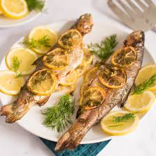 Baked Whole Trout Recipe With Lemon And ...