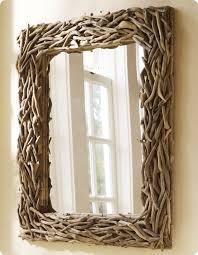 driftwood mirror mirror diy projects