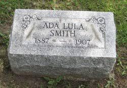 Ada Lula Smith (1887-1907) - Find A Grave Memorial