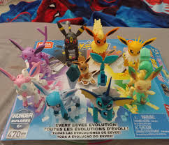 Mega Construx Pokemon Every Eevee Evolution! alsndoos.com