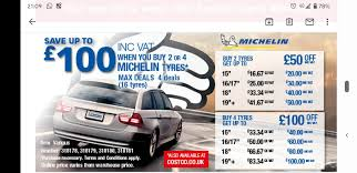 costco michelin tyre offer still on