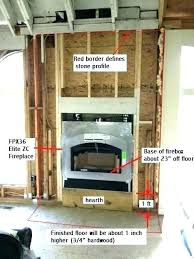 fireplace mantel height code article