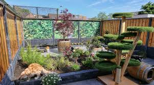 Cat Cage Garden