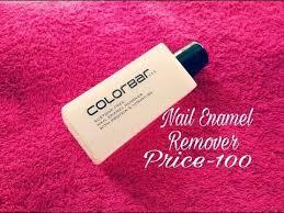 colorbar nail enamel remover review