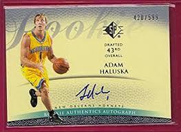 Amazon.com: 2007-08 SP Authentic Retail Rookie Autographs #143 Adam Haluska  - 599: Collectibles & Fine Art