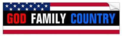 Amazon Com Yilooom Auto Decal Bumper Sticker For Cars Trucks God Family Country Automotive