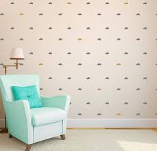 Clouds Tiny Wall Pattern Decal Pattern Design Wall Decal Etsy Nursery Wall Decals Girl Pattern Decal Wall Patterns
