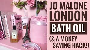 jo malone london bath oil shower oil