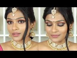 indian bridal makeup brown smokey eye