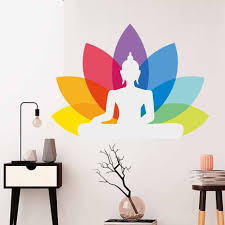 Mandalas Om Symbol Wall Sticker Decal Indian Pattern Home Decor Removable Waterproof Wall Stickers Vinyl Art Buy At The Price Of 3 74 In Aliexpress Com Imall Com