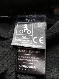 what does ce approved clothing mean