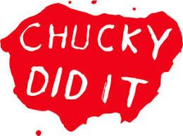 Chucky Did It Child S Play Vinyl Decal Sticker Bride Of Horror Dvd Vhs Movie Ebay