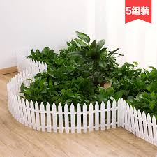 Usd 5 09 Home Plastic Fence Courtyard Indoor Garden Fence Kindergarten Flower Garden White Decorative Little Fence Wholesale From China Online Shopping Buy Asian Products Online From The Best Shoping Agent Chinahao Com