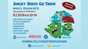 Angry Birds Go Snow Mikkeli 2019 - YouTube