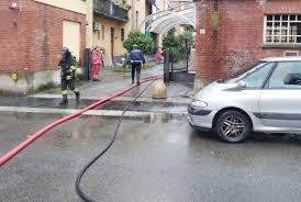 Incendio in via Torino a Legnano - LegnanoNews