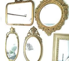 antique gold makeup mirror saubhaya