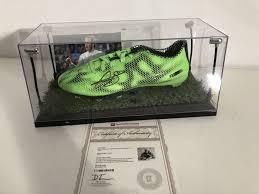 gareth bale hand signed football boot