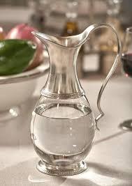pewter glass jug italian pewter