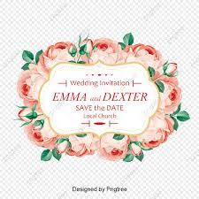 الورد جميل تصميم الدعوة وارتفعت دعوات الزفاف بطاقات زفاف بطاقات