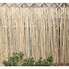 Half Bamboo Screen 4 X 1m