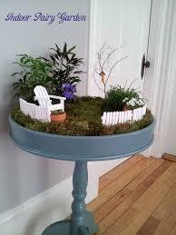17 indoor fairy garden container ideas