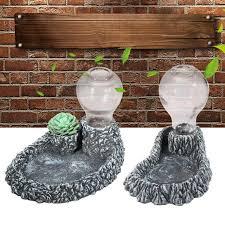 dispenser resin glass bottle terrarium