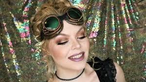 easy steunk makeup tutorial