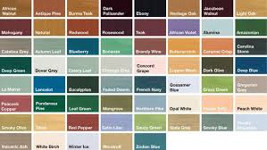 Image Result For Colour Chart For Sadolin Wood Stain I Would Favour Smoky Blue Or Autumn Leaf As Suggesti Fence Paint Colours Staining Wood Staining Deck