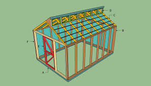 12 wood greenhouse plans you can build