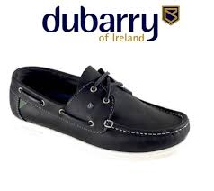 dubarry admiral leather deck shoe
