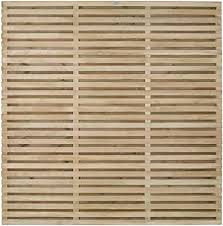 Forest Garden Forest Fence 6 Ft Double Slatted Panel Pack Of 3 Amazon Co Uk Garden Outdoors