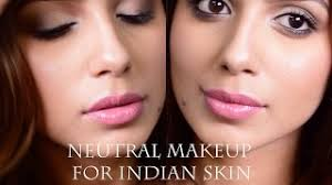 everyday neutral makeup for indian skin