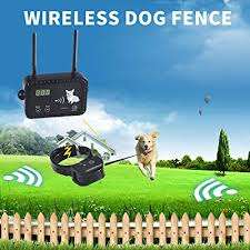 Justpet Wireless Dog Fence Electric Pet Containment System 100 Safe Easy To Install Pet Fence Vibrate Shock Dog Fence Adjustable Control Range Rechargeable Waterproof Collar Buy Products Online With Ubuy