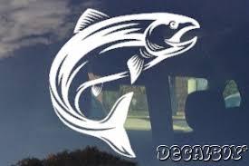 Salmon Decals Stickers Decalboy