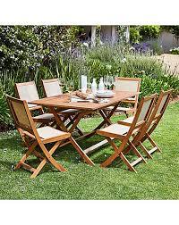 stockholm 6 seat wooden dining set j