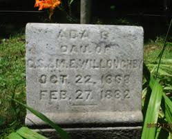 Ada Bell Willoughby (1868-1882) - Find A Grave Memorial